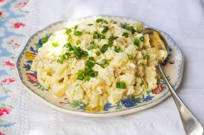 Polish Pickle Potato Salad!