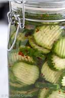 Crunchy Spicy Dill Pickles!