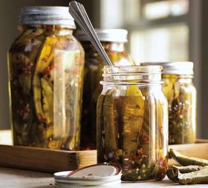 Grilled Sweet & Spicy Pickles!