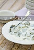 Dill Pickle Salad For The 4th!