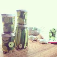 Garlic Dill Cucumber Pickles!