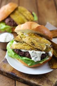 Ranch Burgers W/ Cajun Fried Pickles!