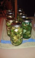 Sour Dill Refrigerator Pickles!