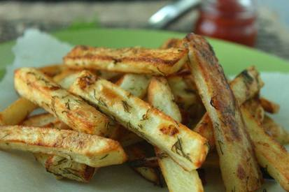 Dill Pickle Fries!