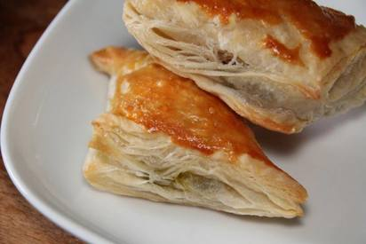 Peanut Butter Pickle Puff Pastry!