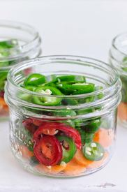 Mexican Style Jalapeno Pickles Escabeche!