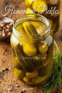 6 Ingredient Homemade Pickles!