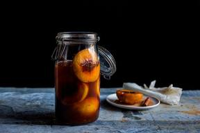 Pickled Peaches With Sweet Spices!