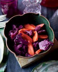 Sweet Cauliflower & Carrot Pickles!