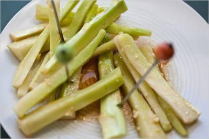 Pickled Broccoli Stems!
