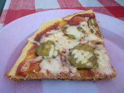 Bbq Pickle Pizza - Dutch Oven Style!