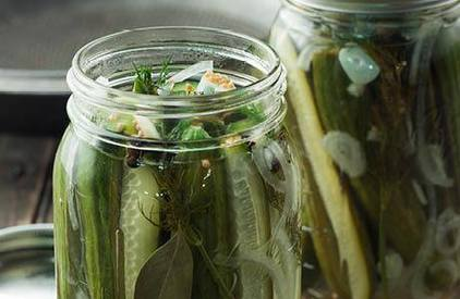 Refrigerator Pickles!