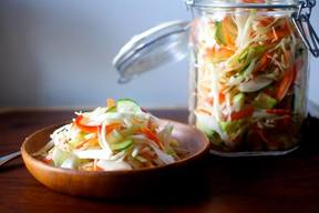 Pickled Cabbage Salad!
