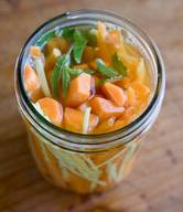 Ginger Pickled Carrots!
