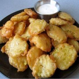 Fried Egg Pickles!
