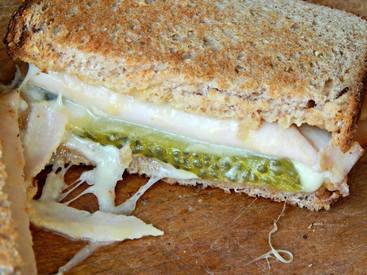 Turkey Pickles Sandwiches!