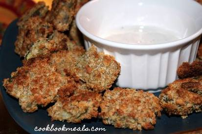 Oven Fried Pickles!