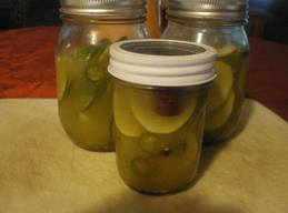 Sweet Spicy Pickles!