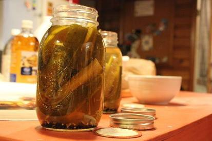 Basic Homemade Pickles!