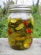 Sweet & Spicy Pickles!
