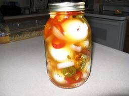 Spicy Pickled Eggs!