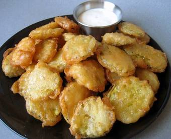Fry Day Fried Pickles!