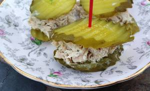 Tuna Salad Pickle Sandwich!