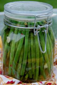 Spicy Pickled Green Beans!