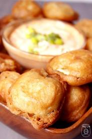 Beer Battered Fried Pickles…