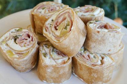 Ham & Pickle Roll Ups!