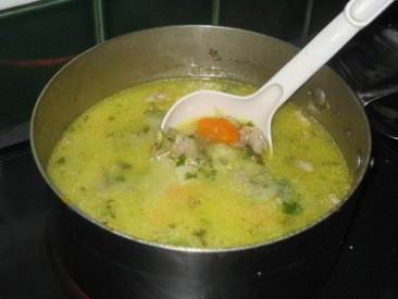 Mom's Pickle Soup!