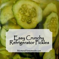 Easy Crunchy Refrigerator Pickles!