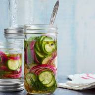 Quick Sweet Pickles!