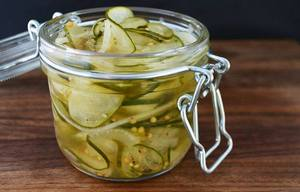 Sous Vide Bread & Butter Pickles!