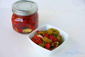 Pickled Shishito Peppers!