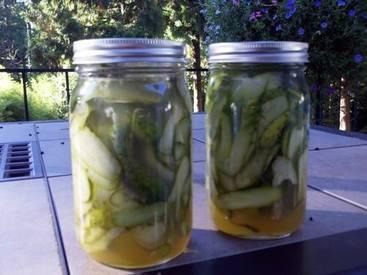 Bread & Butter Sweet Pickles!