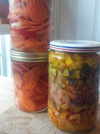 Quick Pickles- Summer In A Jar!
