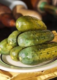 Crock Dill Pickles!