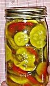 Bread & Butter Summer Squash Fridge Pickles!