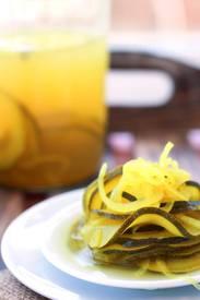 Fermented Zucchini Pickles!