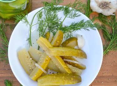 Deli Style Dill Pickles!