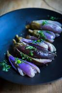 Moroccan Pickled Eggplant!