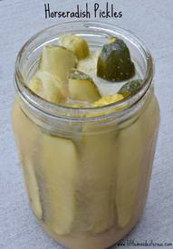 Horseradish Pickles!