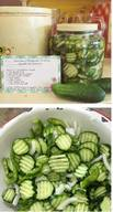 Maw-maw's Sweet Refrigerator Pickles!