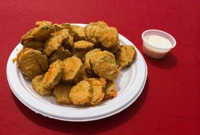 State Fair Fried Pickles!