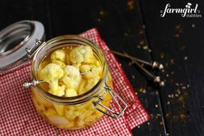 Pickled Curry Cauliflower!
