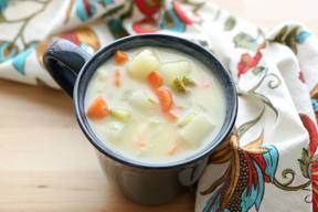 Dill Pickle Soup!