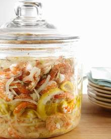 Pickled Shrimp!