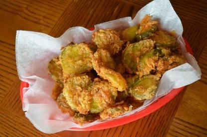 Buttermilk Fried Pickles!