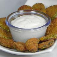 Super Easy Spicy Fried Pickles!